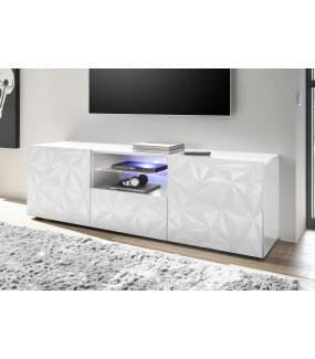 Stolik pod TV PRISMA 180 cm biały