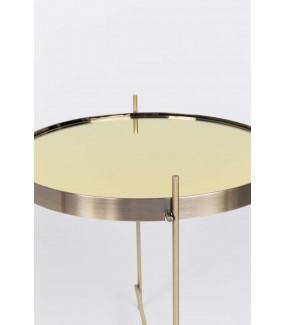 Złoty stolik kawowy