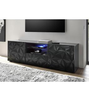 Stolik pod TV PRISMA 180 cm antracytowy