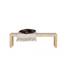 Naturalna ławka do jadalni