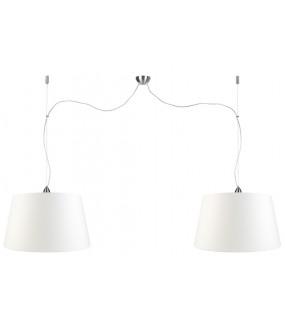 Lampa Wisząca Rome Podwójna 37x26x47cm