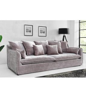 Sofa Heaven 210 cm velvet taupe