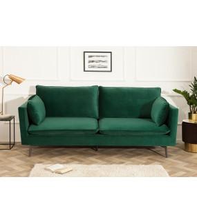 Sofa Famous 210 cm zielona