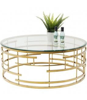 Stolik idealny do salonu glam. Pięknie zaaranżuje wnętrze nowoczesnego pokoju.