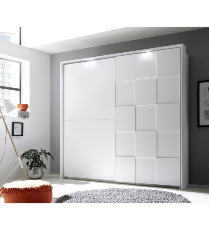 Szafa OTTICA 220 cm x 210 cm biała