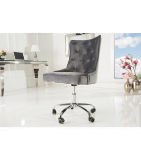 Fotel biurowy Victorian szary