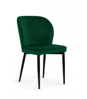 Krzesło AINE velvet zielone