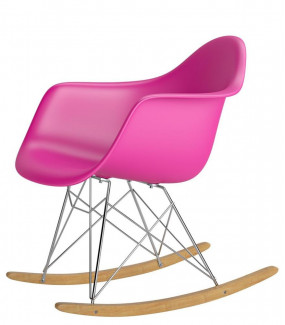 Krzesło P018RR PP inspirowane RAR różowe do jadalni
