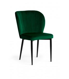 Krzesło SHELLY velvet zielone
