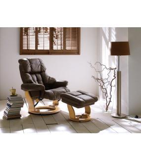 Fotel CALGARY brązowy