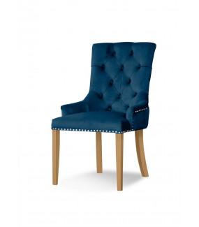 Krzesło AUGUST niebieskie