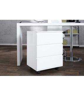 Szafka Kontenerek Big Deal biały do gabinetu w stylu nowoczesnym. Produkt świetnie będzie wyglądał w nowoczesnym biurze