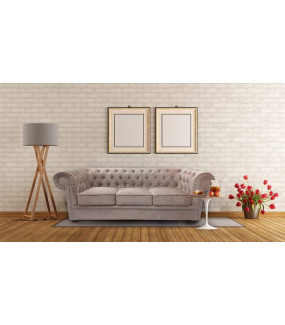 Sofa Chesterfield Modern Barock II - Materiał Wodoodporny z funkcją spania
