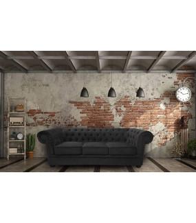 Sofa Chesterfield Modern Barock II Clasic bez funkcji spania