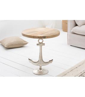 Stolik kawowy  w kształcie kotwicy