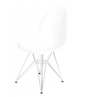 Krzesło P016 PP Inspirowane DSR Białe