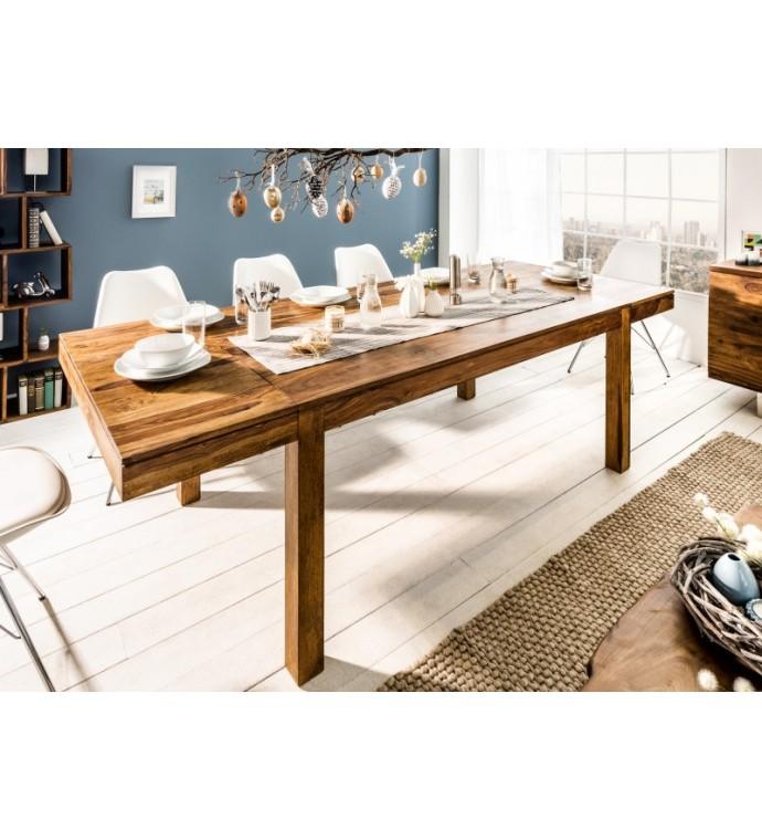Stół rozkładany Lagos 160 cm - 240 cm Sheesham