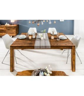 Nietuzinkowy stół rozkładany z drewna Sheesham
