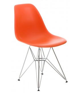 Krzesło P016 PP Inspirowane DSR Pomarańczowe