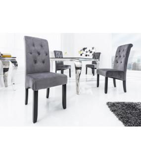 Krzesło Valentino szare