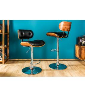 Krzesło barowe Classico czarne
