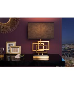 Lampa stołowa Leonor 56 cm złota