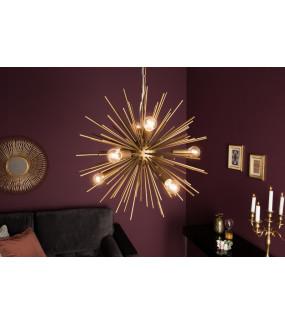 Lampa wisząca Sunlight 50 cm złota