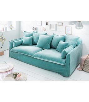 Idealna Sofa Heaven 210 cm aqua velvet
