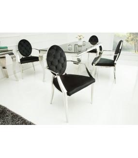 Eleganckie krzesło barokowe do salonu