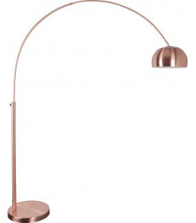 Lampa Podłogowa Metal Bow Miedziana