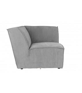 Sofa Modułowa James Element prawy Szary