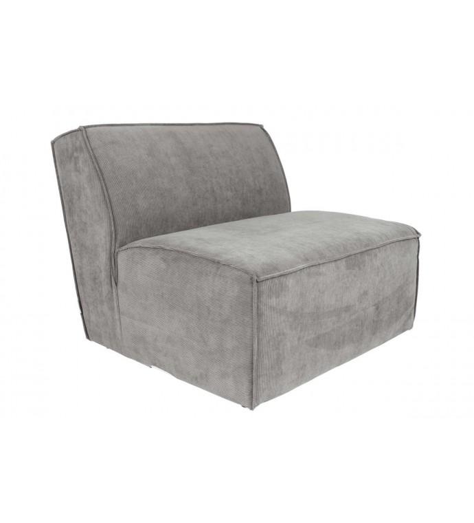 Sofa Modułowa James Element środkowy szary