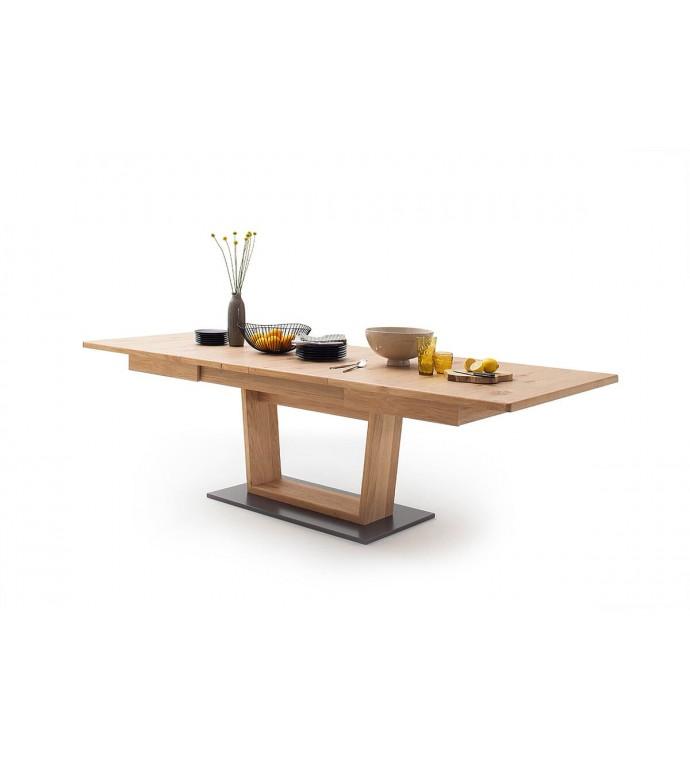 Stół rozkładany PORTLAND 180 cm - 280 cm w kolorze dębowym