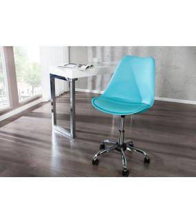 Krzesło biurowe Scandinavia II turkusowe