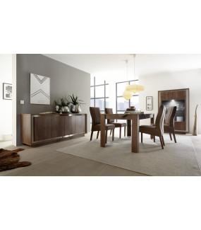 Stół rozkładany SKY 137 cm - 185 cm dąb koniak