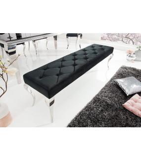 Ławka Modern Barock 170 Cm czarna