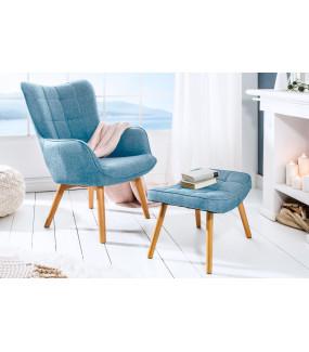 Fotel Scandinavia niebieski
