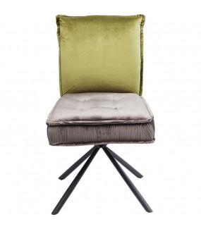Krzesło CHELSEA zielono szare