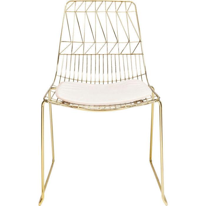 Krzesło Solo Złote