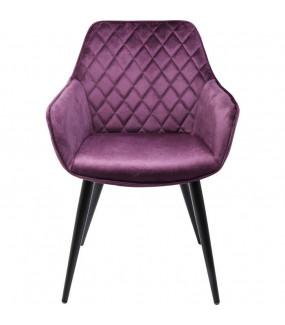 Krzesło Harry fioletowe do salonu