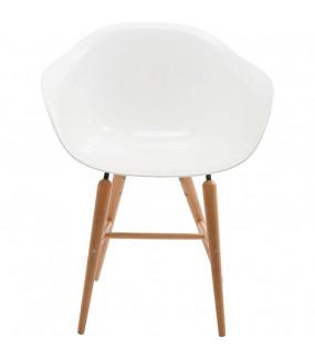 Krzesło Forum Wood białe