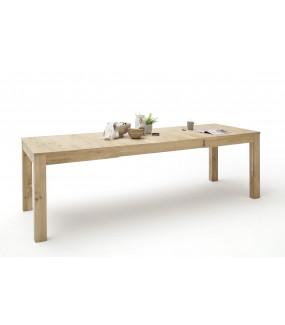 Stół rozkładany SANTORI 160 cm - 260 cm w kolorze dębowym