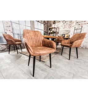 Krzesło Turin antyczne jasnobrązowe