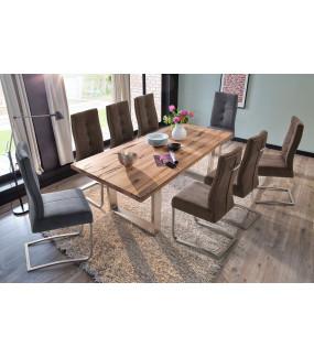 Stół CASTELLO 180 cm dąb bassano do jadalni