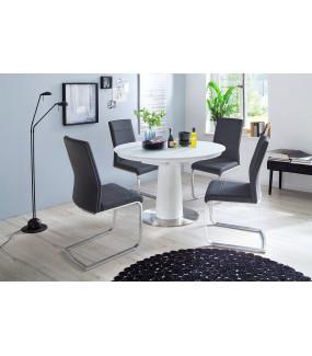 Stół rozkładany WARIS 120 cm - 160 cm biały