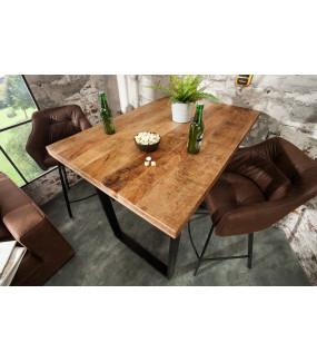 Nowoczesny stół z drewna Mango