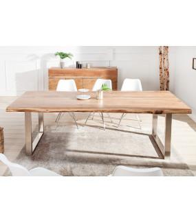 Naturalny stół do jadalni