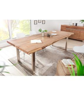Stół z litego drewna akacjowego