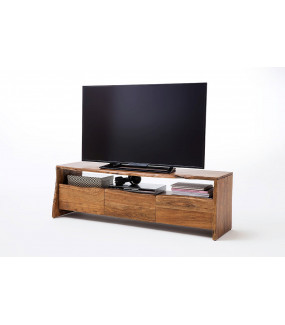 Stolik pod TV BUGRI 140 cm akacja naturalna