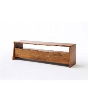 Stolik pod TV BUGRI 140 cm akacja naturalna do salonu